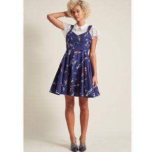 Heartfelt Invitation A-Line Dress in Nutcrackers